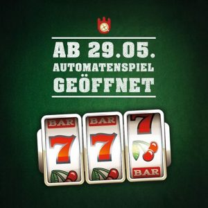 Spielbank Hamburg öffnet Automatenspiel ab dem 29. Mai