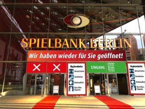 Spielbank Berlin ab dem 2. Juni wieder offen