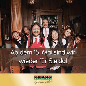 Spielbank Wiesbaden: Re-Opening am 15. Mai