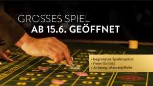Spielbanken Bayern öffnen das Große Spiel ab 15. Juni