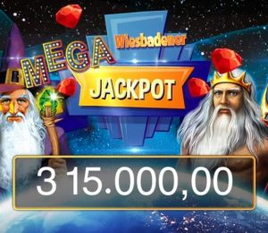 Rund € 315.000 warten beim Wiesbadener Mega Jackpot