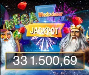 Wiesbadener Mega Jackpot mit € 331.500 geknackt!