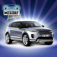 Spielbank Hohensyburg: Ein Range Rover Evoque wartet im Mystery Jackpot