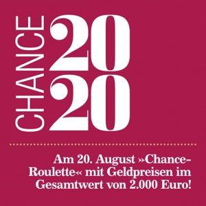 Spielbank Bad Homburg: Chance 2020 bringt € 2.000
