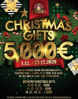 Banco Casino Bratislava: Adventkalender, Nikolo-Tombloa und der High-Low Jackpot