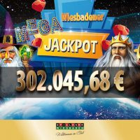 Mehr als € 302.000 warten bereits im Wiesbadener Mega Jackpot
